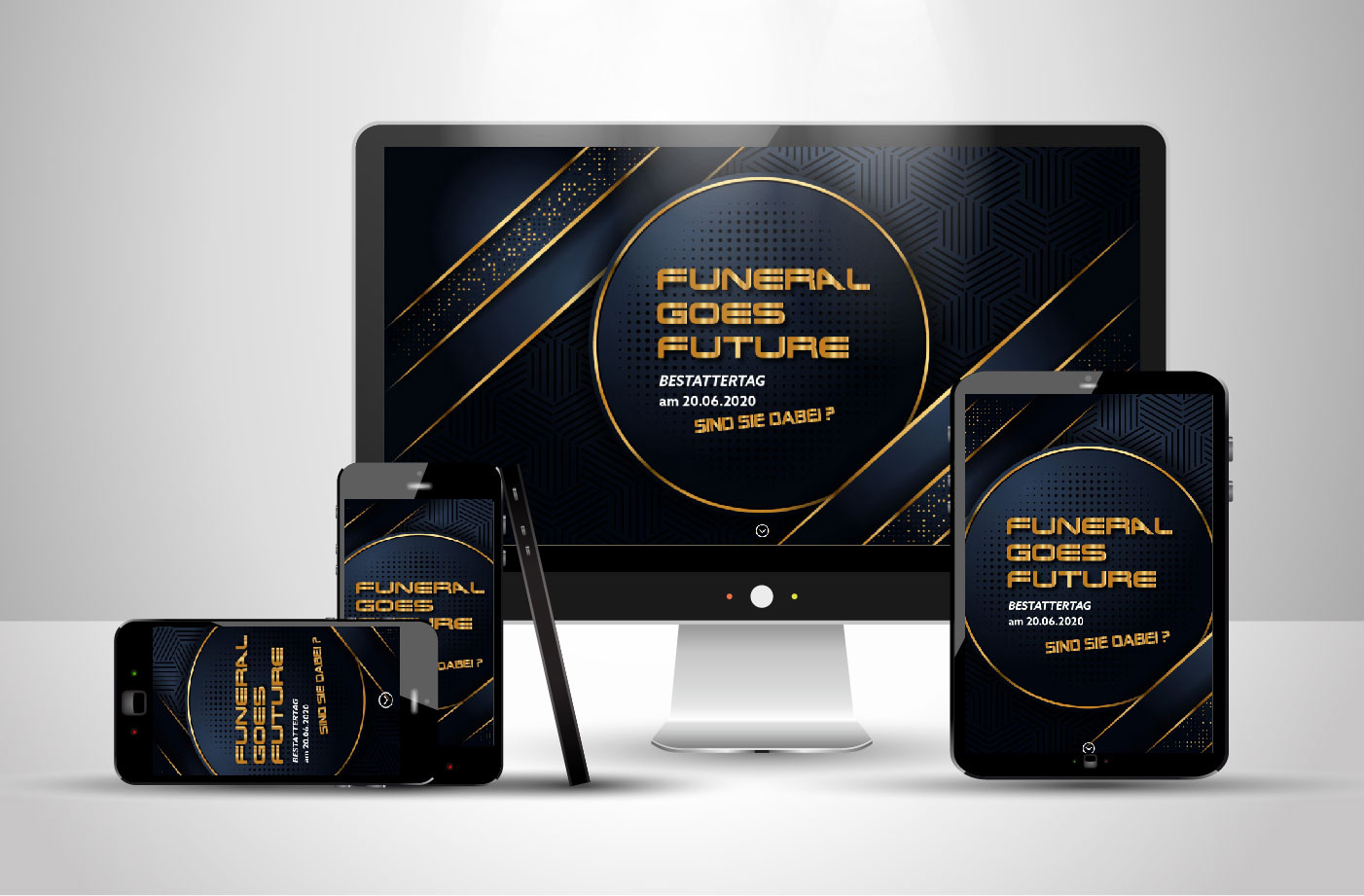 Website vom Bestattertag 2020